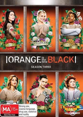 Orange is the New Black (Season Three) DVD