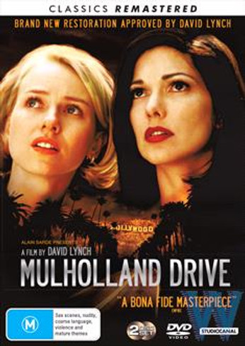 Mulholland Drive DVD (2 Disc Classics Remastered Edition)