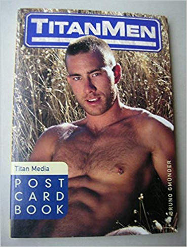 Postcard Book #33 : Titan Men