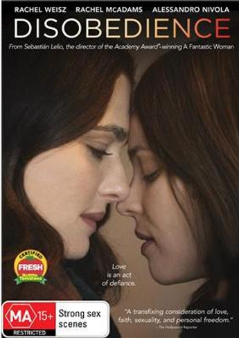 Disobedience DVD