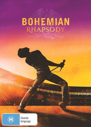Bohemian Rhapsody DVD ( includes the FULL Live Aid Movie Experience not seen in cinemas!!)