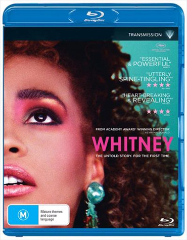 Whitney - The Untold Story For The First Time Blu-Ray