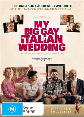 My Big Gay Italian Wedding DVD
