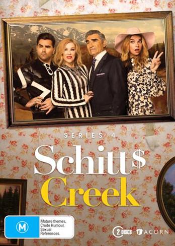 Schitt's Creek Season Four DVD