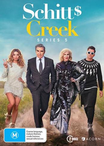 Schitt's Creek Season Five DVD