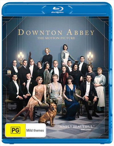 Downton Abbey: The Motion Picture Blu-Ray