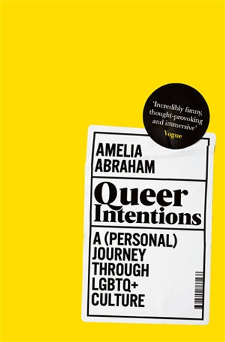 Queer Intentions : A (Personal) Journey Through LGBTQ + Culture (Paperback)