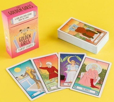 The Golden Girls Tarot Cards : A Look Into Your Future from the Lanai
