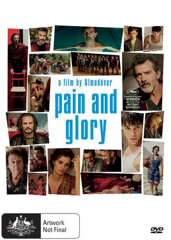Pain and Glory DVD