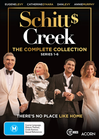 Schitt's Creek Seasons One to Six DVD Boxset