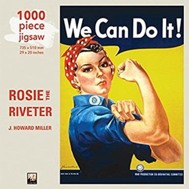 Jigsaw : Rosie the Riveter Poster (1000-piece)