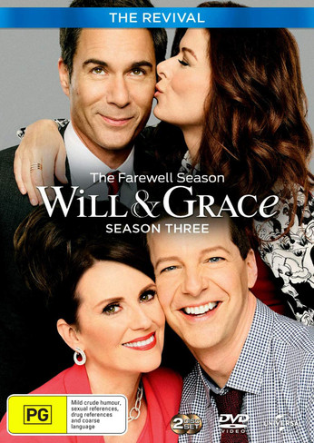Will and Grace - The Revival - Season Three DVD