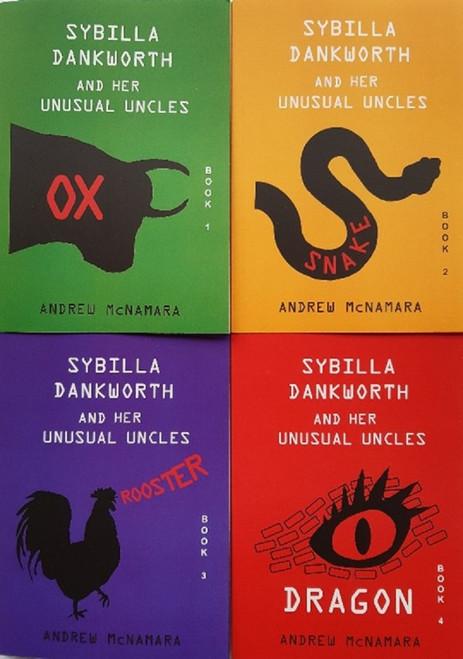 Sybilla Dankworth and her Unusual Uncles (Books 1 - 4)