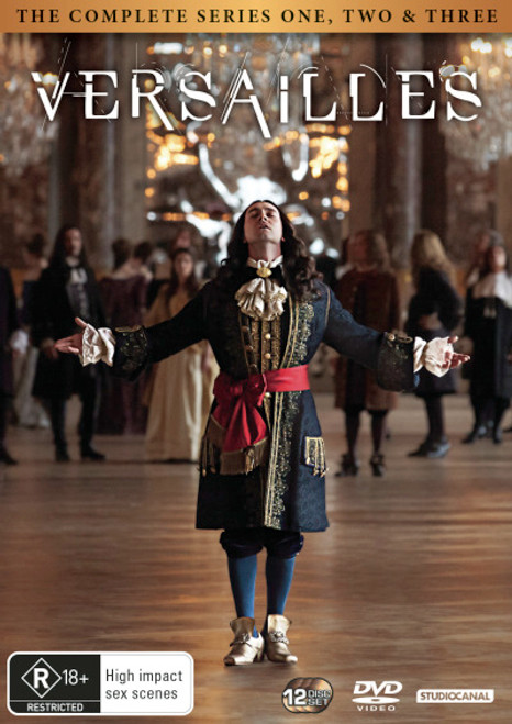Versailles: The Complete Series One, Two and Three DVD
