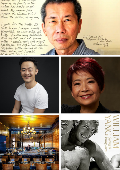 Literary Dinner - William Yang  in conversation with Benjamin Law and MCed by Annette Shun Wah - Wed 28 April, 7pm - sold out!