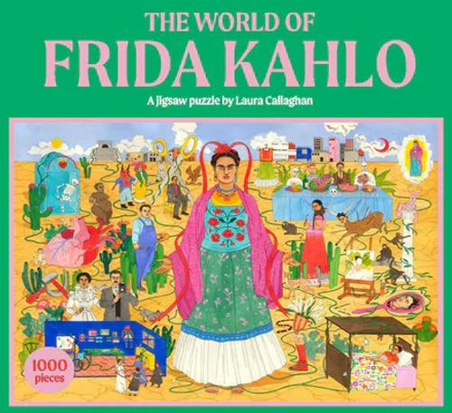 The World of Frida Kahlo: A Jigsaw Puzzle