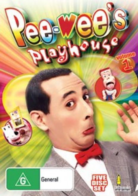 Pee-Wee's Playhouse Vol. 1 DVD