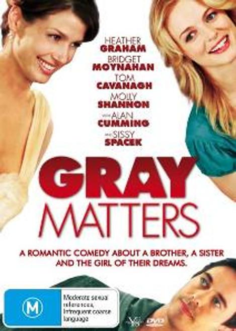 Gray Matters DVD