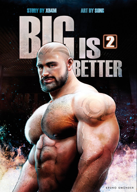 Big is Better 2 (Erotic Comic Book)