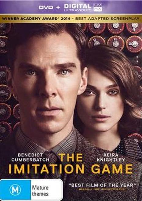 The Imitation Game DVD (+ Ultraviolet)