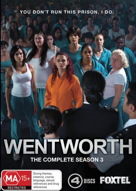 Wentworth : The Complete Season Three DVD