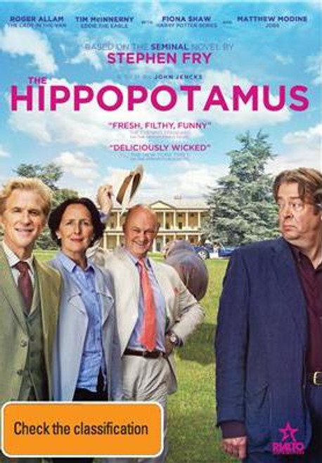 The Hippopotamus DVD