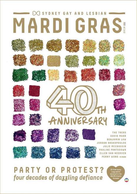 Mardi Gras 40th Anniversary Magazine