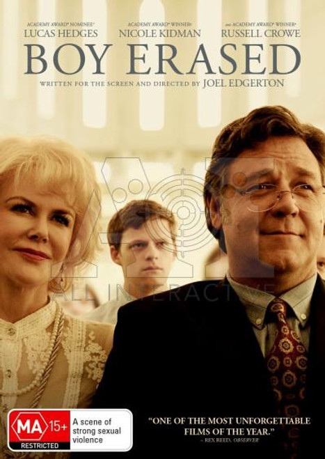 Boy Erased DVD