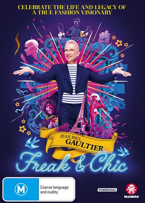 Jean Paul Gaultier - Freak And Chic DVD