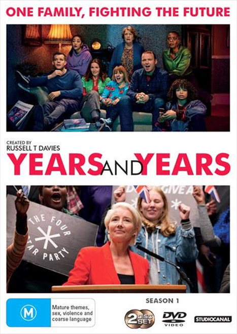 Years and Years Season One DVD