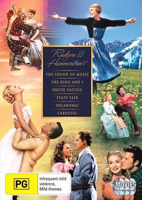 Rodgers And Hammerstein Collection DVD