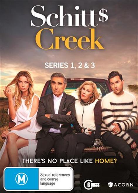 Schitt's Creek Seasons One, Two and Three DVD