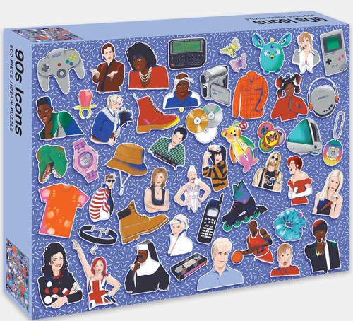 90s Icons Jigsaw Puzzle (500 piece)