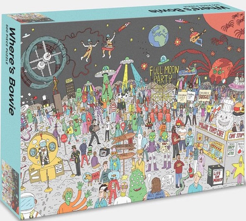 Where's Bowie? Bowie in Space (500 Piece Jigsaw Puzzle)