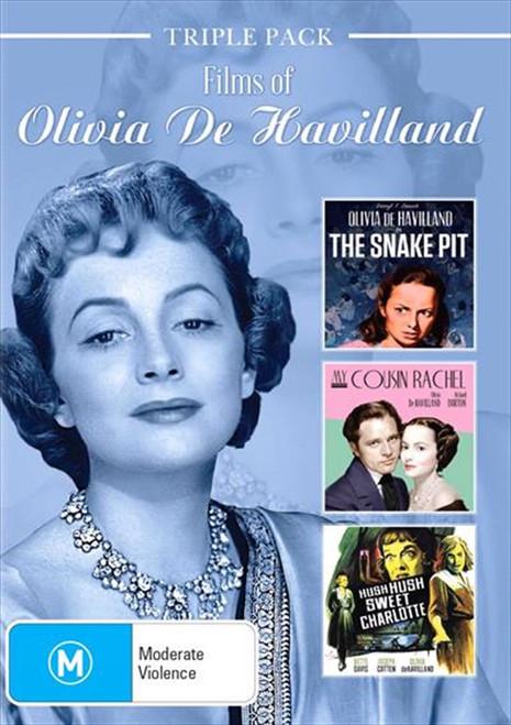 The Films of Olivia De Havilland DVD