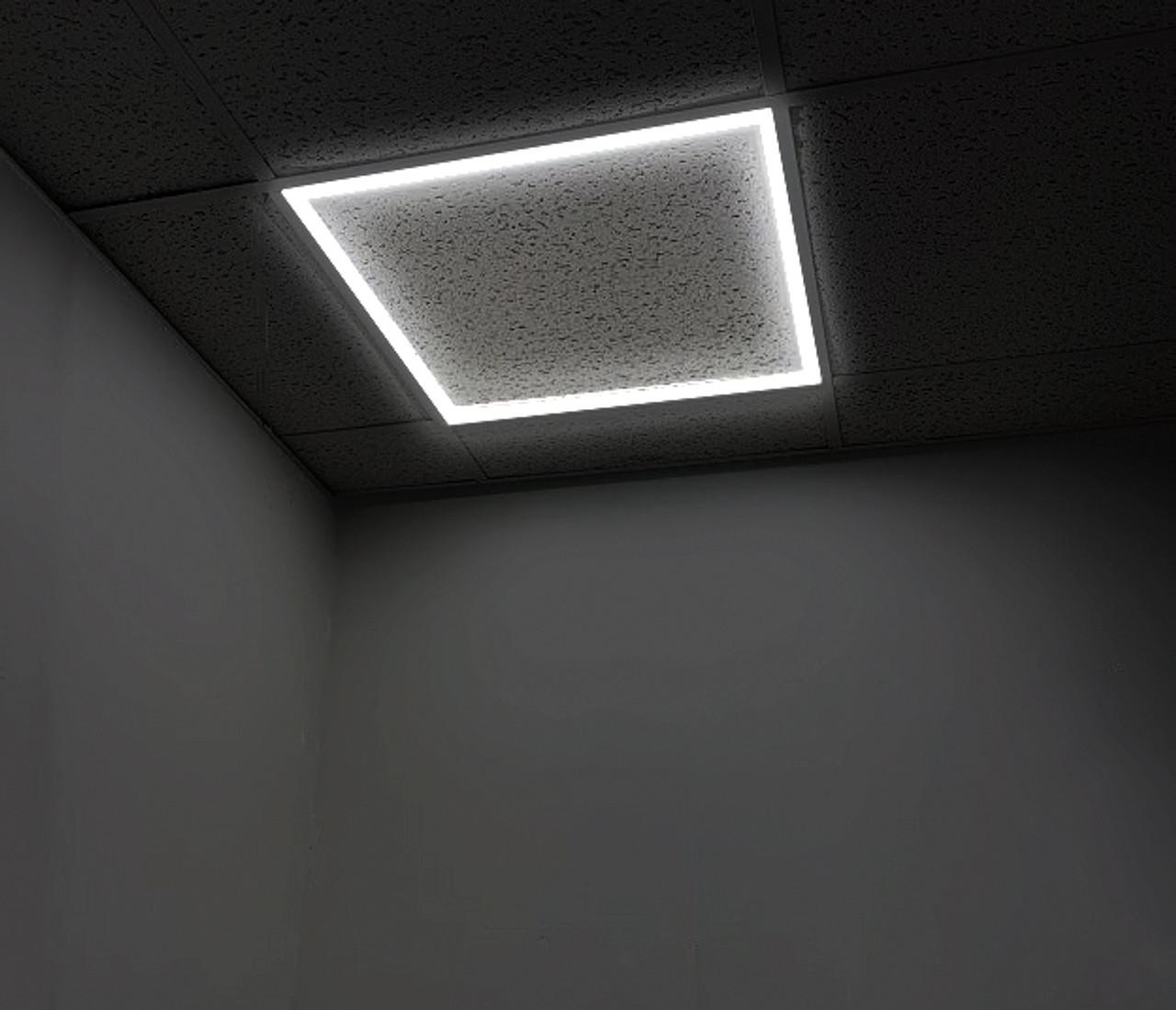 Led Edge Lit Grid Ceiling Tile Perimeter Light