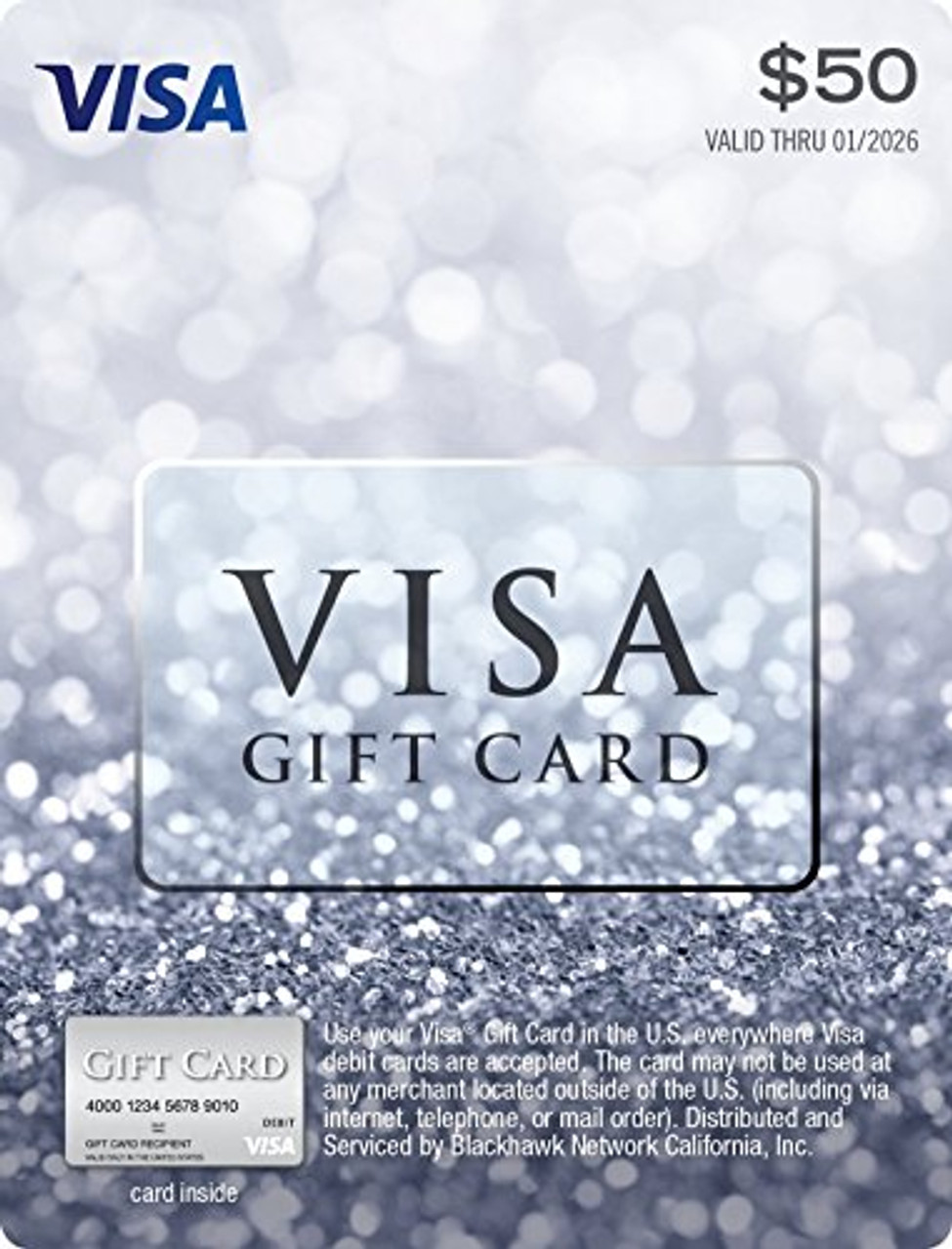 $10 Visa Gift Card -Free With 2100 Reward Points. Exclusive