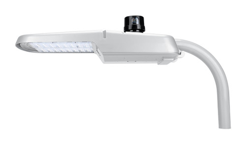 LED Cobrahead Street Light with Photocell  -  100W and 12,000 Lumens