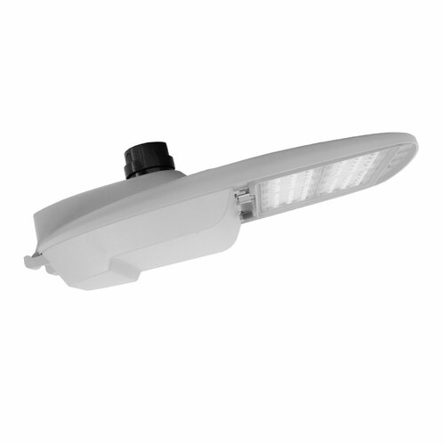 White LED Street Roadway Lights With Nema Twist-Lock Photocell