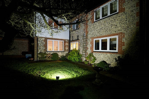 LED Exterior Flood Light Fixture - Can be used for all LED Outdoor Flood Lighting Requirements, 300 Watt - 30,000 Lumens,  With Adjustable Slipfitter Mount for 2-2.5 Inch Pole Mount -3000K