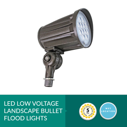 Low Voltage LED Landscape Bullet Flood Light