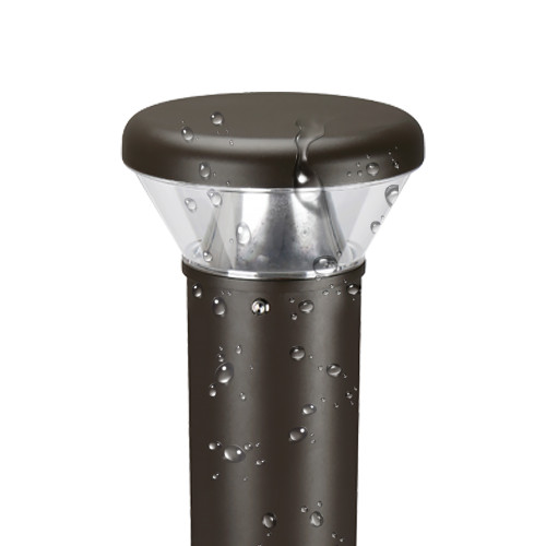 LED Bollard Lights - For Commercial Driveways and Parking Lots - 26W - 3000 Lumens - 4000K