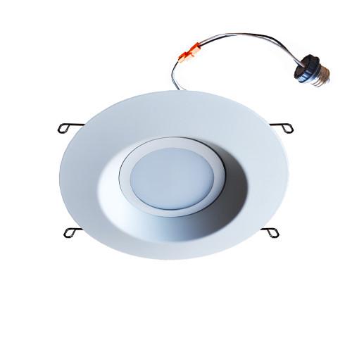 LED 6 Inch Recessed Lighting Retrofit Can Light Trim - 11W - 800 Lumens - 3000K Soft White