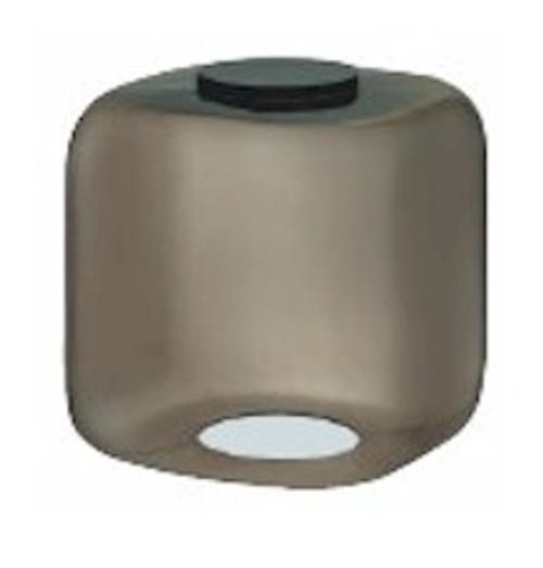 12 Inch Square Cube Diffuser Smoke 903