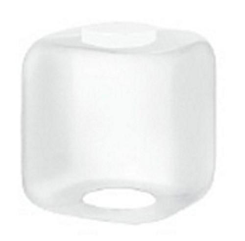 15 Inch Square Cube Diffuser White