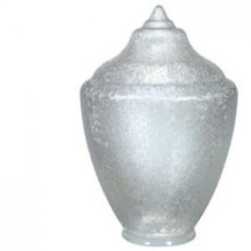 "Small Acorn Plastic Globe 4"" Plain Lip Opening - 13 inches"
