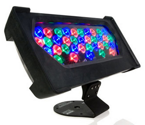 ColorBlast TR, 24V, RGB LED, 10Deg. / 22Deg., Black