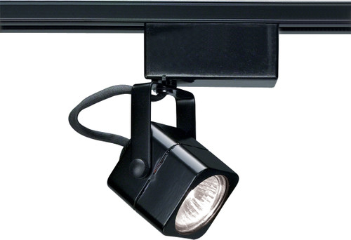 Mr16 - Black Track Head Only - Square 12 Volt