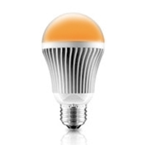 7 Watt Amber LED A19 Turtle Friendly Light Bulb - FWC Wildlife Lighting Certified