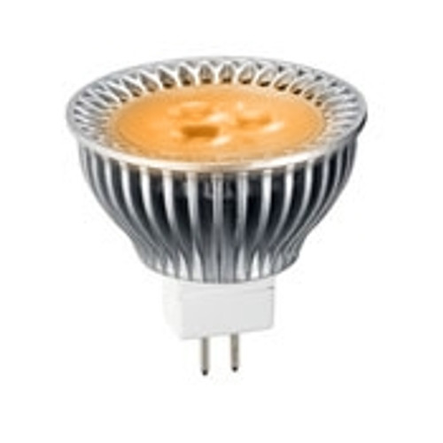 5 Watt Amber LED MR16 With GU5.3 Pin Base - FWC Wildlife Lighting Certified